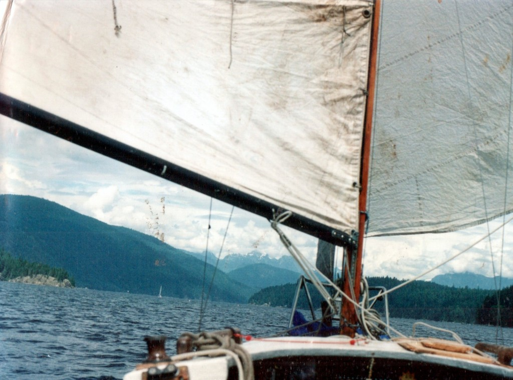 My old sailboat: The Anonymous Vibe